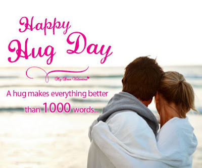 Hug day wishes images in english