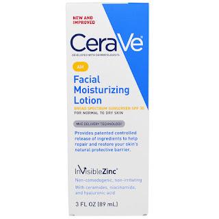 CeraVe AM Facial Moisturizing Lotion Review