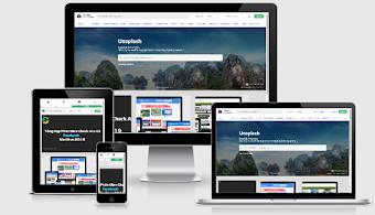 Unsplash Theme Convert To Blogspot - Chia Sẻ Hình Ảnh Đẹp