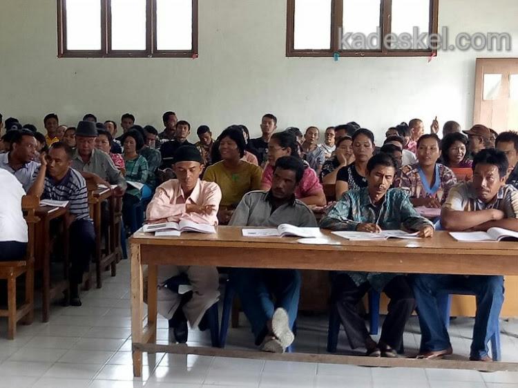 Usai Bimtek PPS, PPK dan PPS se Dolok Panribuan Bimtek KPPS dari 15 Nagori(Desa)