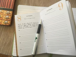 The write idea, keeping a diary