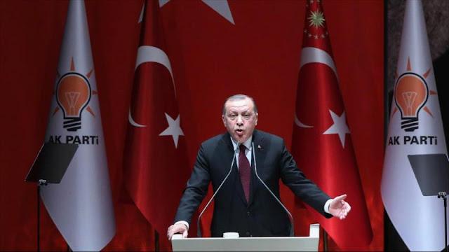 Erdogan: limpiamos todo nuestro borde con Siria de terroristas