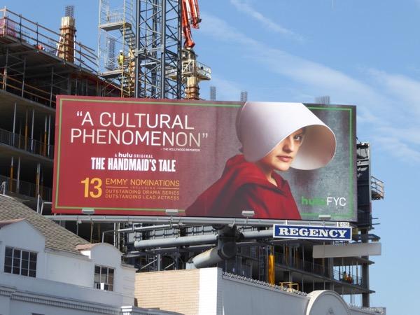 Handmaids Tale cultural phenomenon Emmy billboard