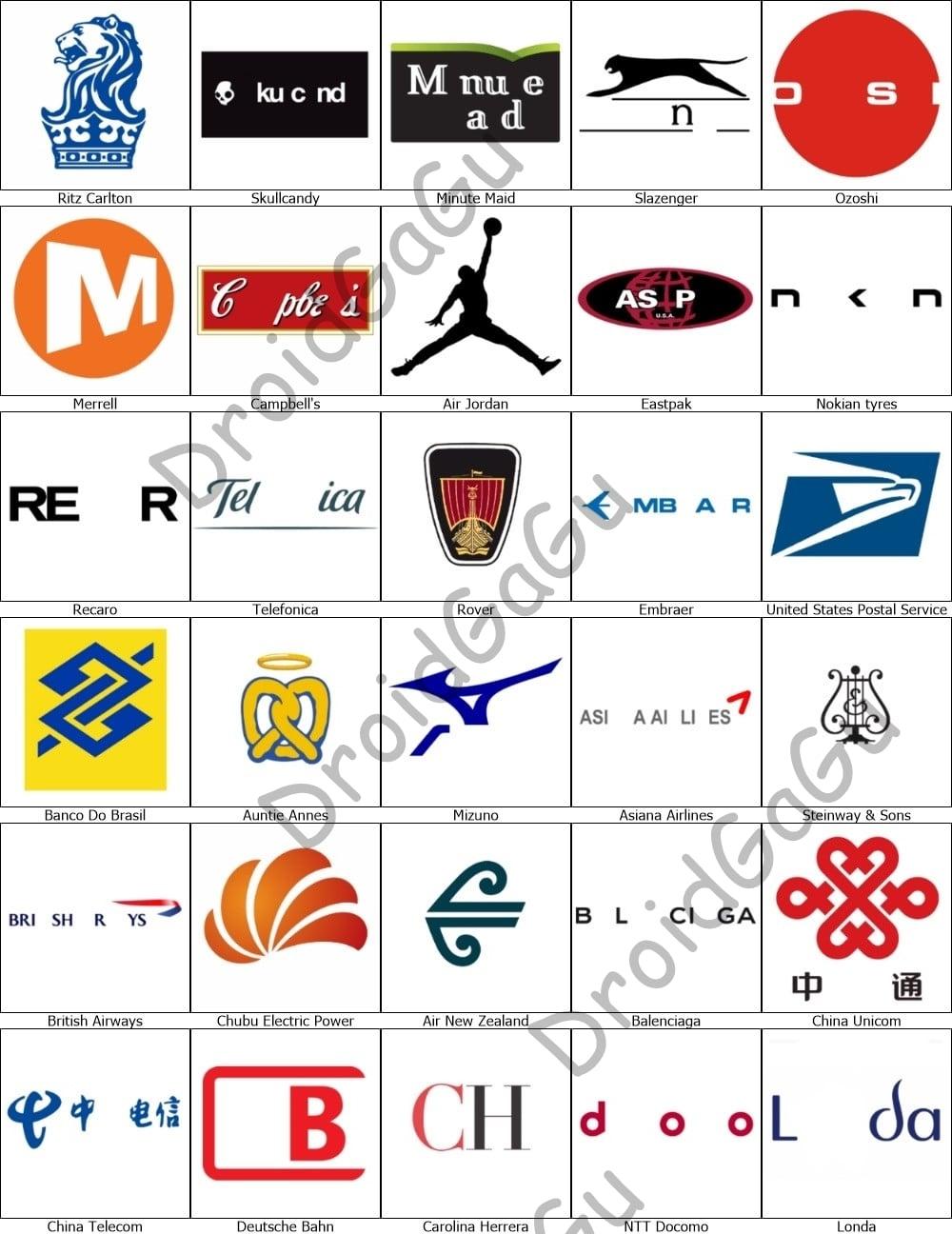 timeless design 9e15b dc080 Level 18 Logo Quiz Answers - Bubble - DroidGaGu
