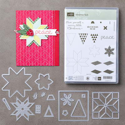 Make cards that your quilt loving friends will go crazy for - http://bit.ly/2yi5LSZ - Simply Stamping with Narelle