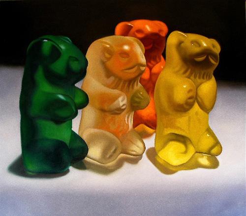 gummy bear art