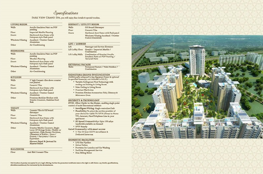 New Launch Apartments Bestech Park View Grand Spa, Sector 81, Gurugram (Gurgaon)