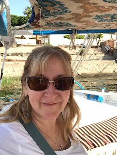 S.R. Karfelt, Author, travel blog, egypt, the nile, luxor