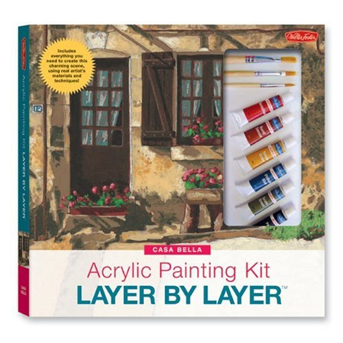 Acrylic Painting Layer by Layer - Casa Bella Kit by Nathan Rohlander