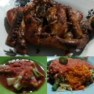 ayam taliwang, bakar, kuliner khas lombok,