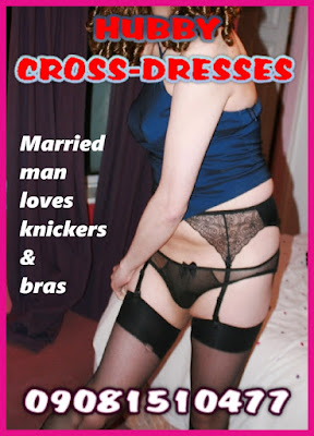 Disappointed wife discovers sissy husband wearing her knickers and stockings