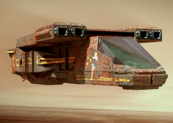 Red Faction Origins Mars shuttle