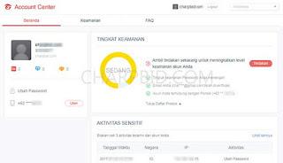 Cara Verifikasi Alamat Email Akun PB Garena Indonesia Terbaru