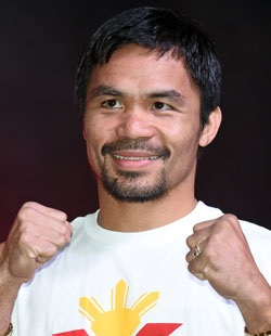 """For saying gay couples """"worse than animal"""" Nike axes Pacquiao"""