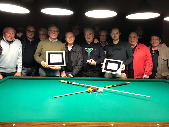 Sporting Club San Severo, Antonello Del Sordo vince il torneo sociale di biliardo