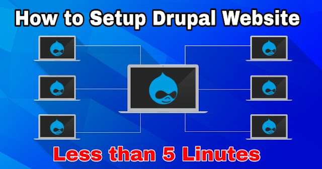 How to Setup Drupal Website