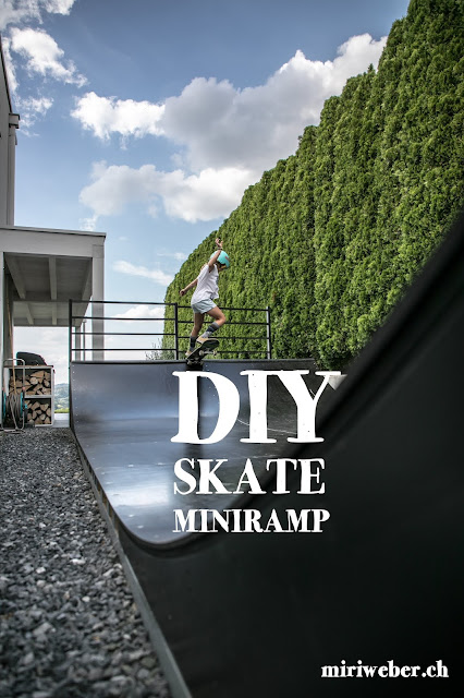 Skateboard, Mini Ramp, Halfpipe, DIY, selber machen, Bauplan, DIY Blog Schweiz, Skate, Backyard, Outdoor Ramp, selber bauen, Anleitung, Plan, Swiss Skate Family