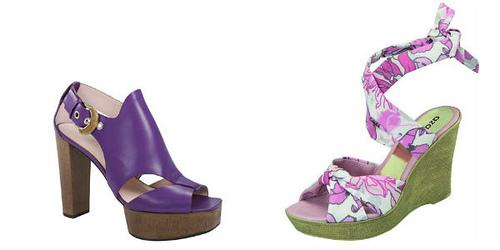 d99cb25064 A sandália Anabela da Azaléia vem inspirada no tema tropical