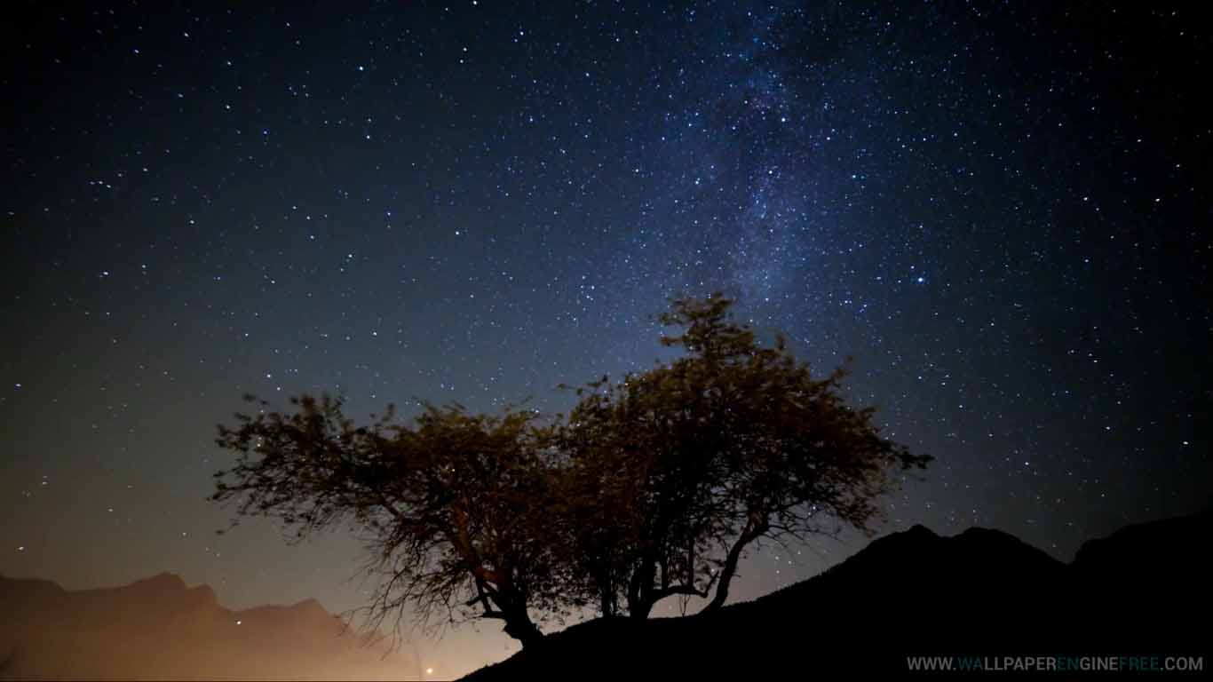 milky way timelapse animated wallpaper engine download wallpaper