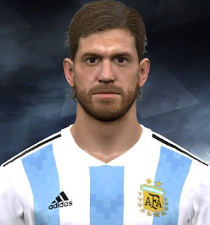 PES 2017 Faces Cristian Ansaldi by Facemaker Huseyn