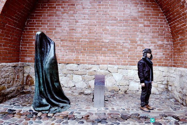 bowdywanderscom Singapore Travel Blog Philippines Photo The Ghost Sculpture: Riga's Secret Scary Landmark in the Old Town