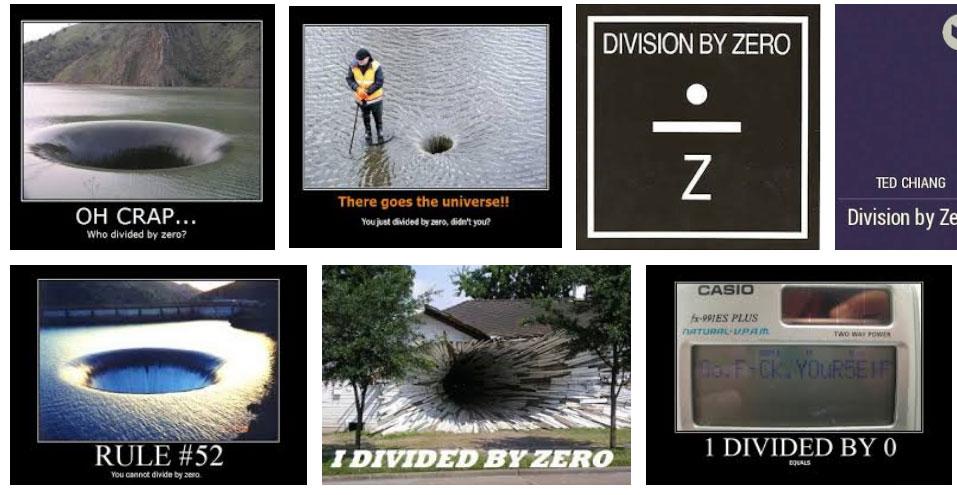 Google-kuvahaku: division by zero