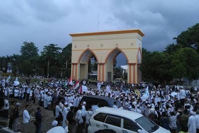 Ribuan Massa Bangka Belitung Tuntut Ahok Dihukum Tegas