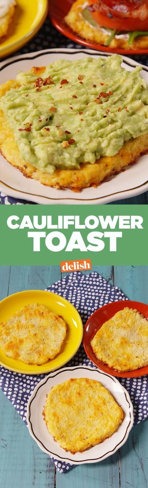 Cauliflower Toast