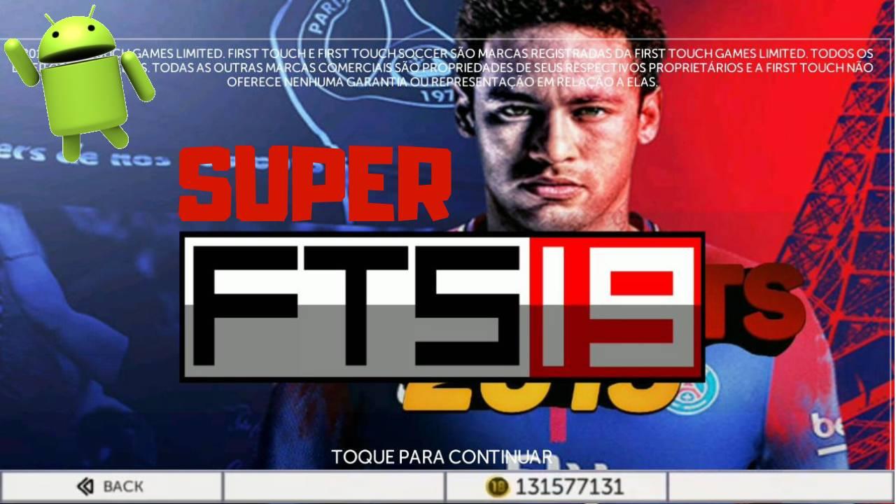 Super FTS 19 Android Mod Apk+Obb+Data 250MB HD Graphics