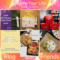Blog With Friends, a multi-blogger project based post incorporating a theme, Simplify Your Life | Featured on www.BakingInATornado.com