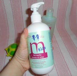 gel douche naturel pour enfant