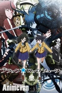 Black Rock Shooter - Black★Rock Shooter 2012 Poster