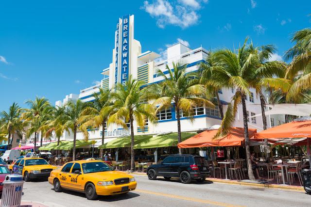 Ocean Drive em Miami