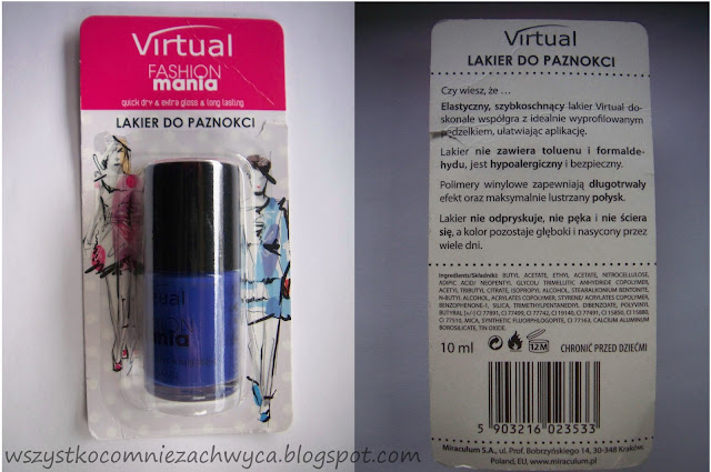 Virtual, Fashionmania, 182 Royal Blue