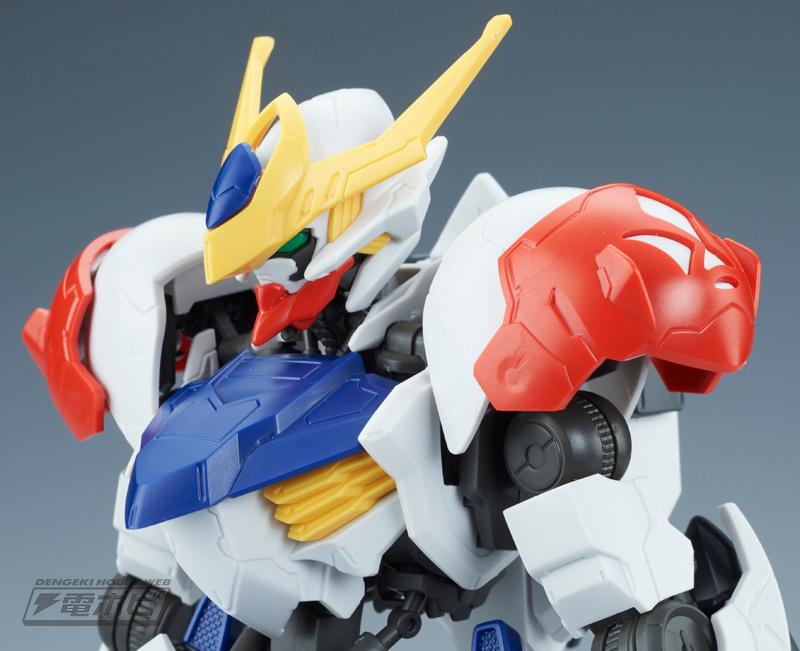 1/100 Full Mechanics Gundam Barbatos Lupus Sample Images by Dengeki Hobby