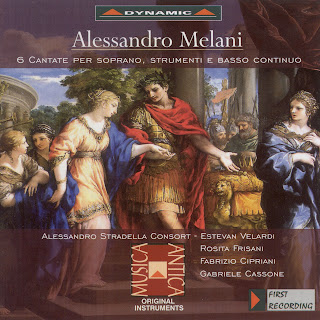 Melani: 6 Cantatas for Soprano