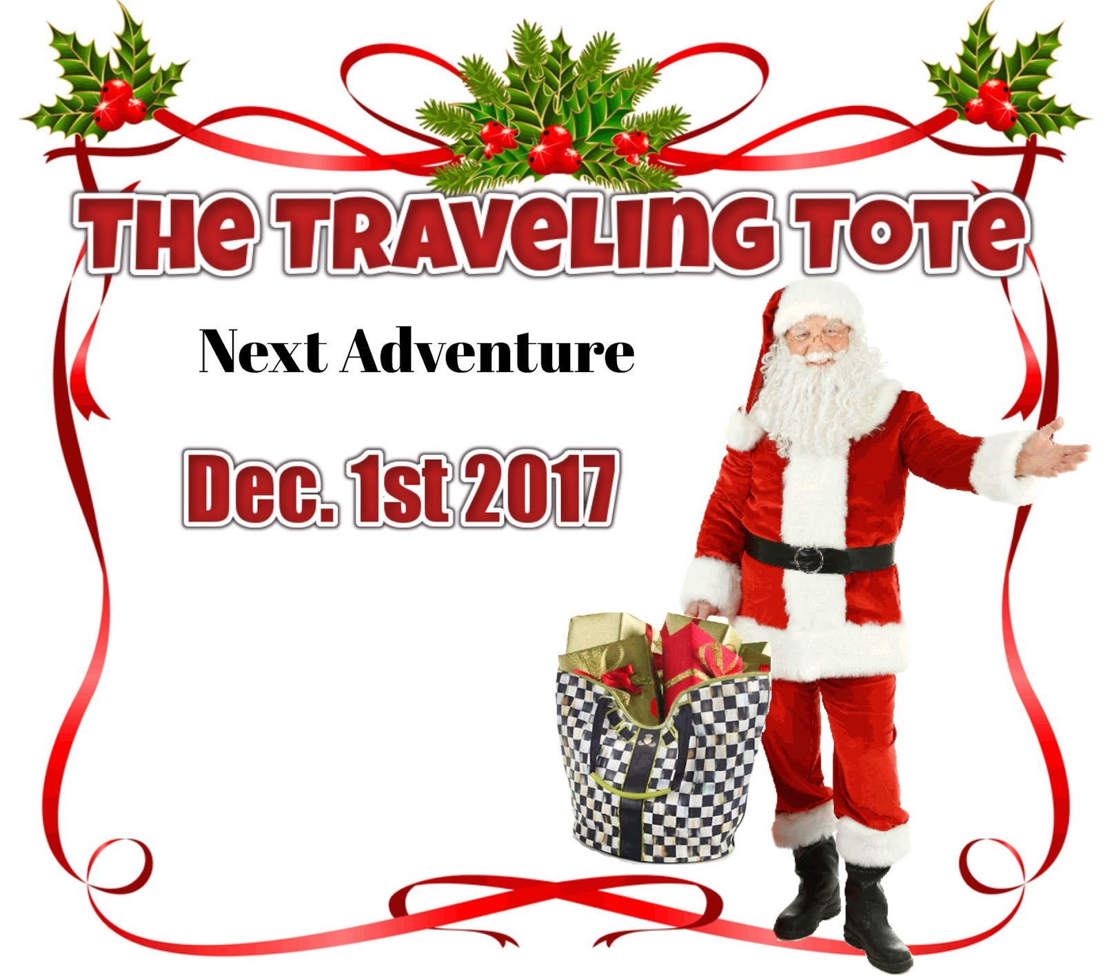 Look for Tales of the Traveling Tote #13