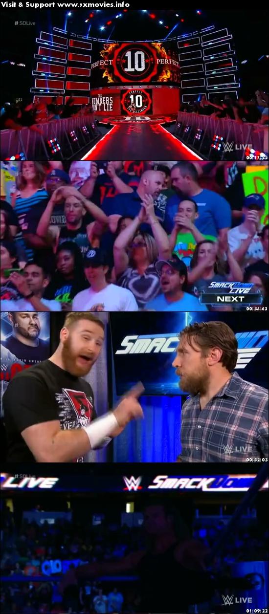WWE Smackdown Live 26 September 2017 HDTV 480p 300MB