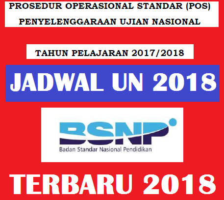 Jadwal Unbk 2018 Smp Mts Sma Ma Smk Mak Info Guru Terbaru
