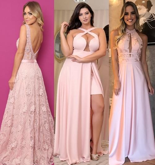 Vestido Rosa Para Madrinha 45 Vestidos Para Usar Em 2019