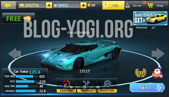 City Racing 3D MoD APK Terbaru (Unlimited Cash, diamond, gold)