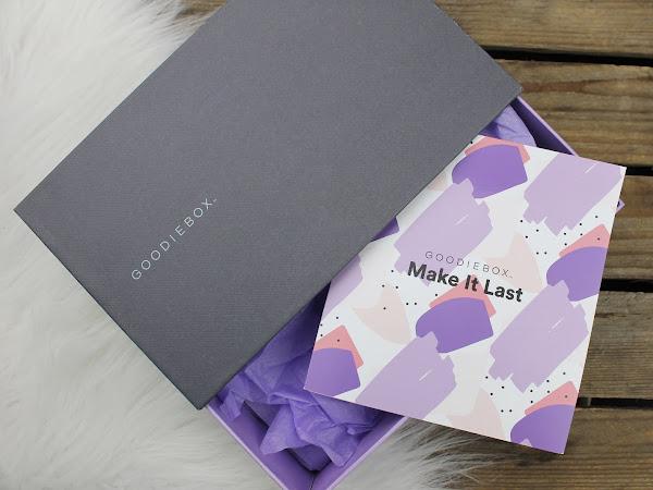 GOODIEBOX - Unboxing 'Make It Last' Box