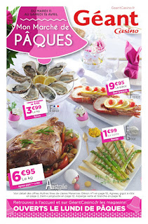 Catalogue géant casino 11 au 15 Avril 2017