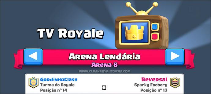 Sneak Peek #1 Espectador de batalhas ao vivo + Tv Royale categorizada por Arena - 5