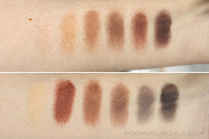 Swatches Naked Ultimate Basics Urban Decay