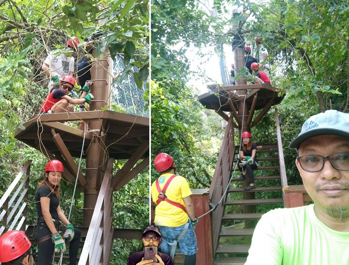 Zip Line Bukit Merah Adventure Park