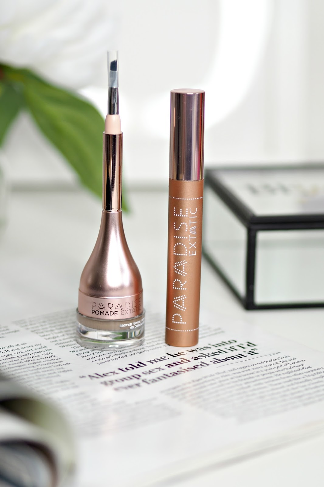L'Oreal Paradise Extatic Mascara and Brow Pomade