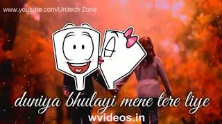 Tere Liye Whatsapp Status Love Video
