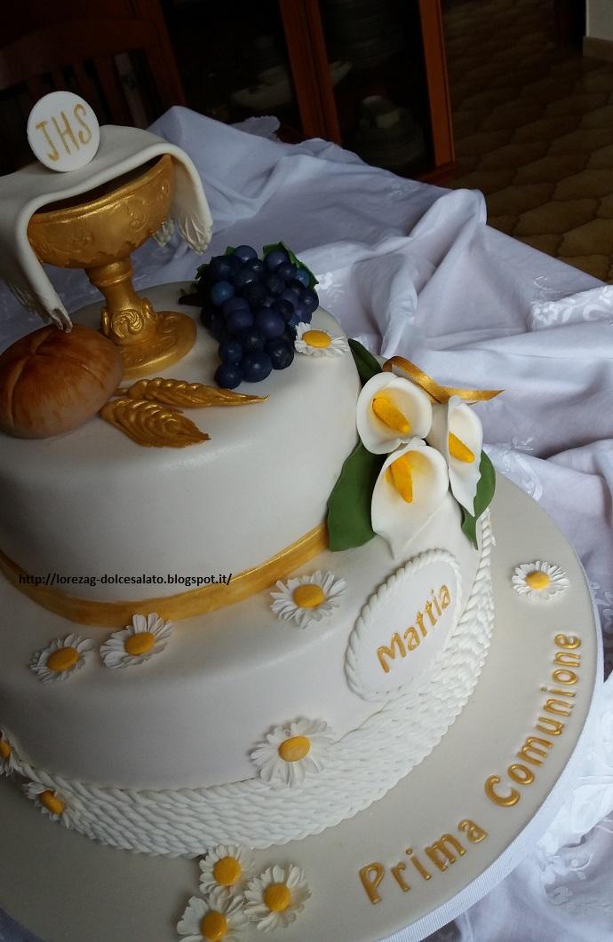 Super LE TORTE DI LORENA .E NON SOLO!!!!!: Torta Prima Comunione per  CG51