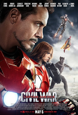 Marvel's Captain America: Civil War Team Cap vs Team Iron Man Movie Poster Set – Team Iron Man
